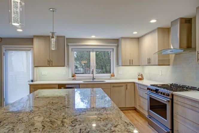 modern granite kitchen lewisville